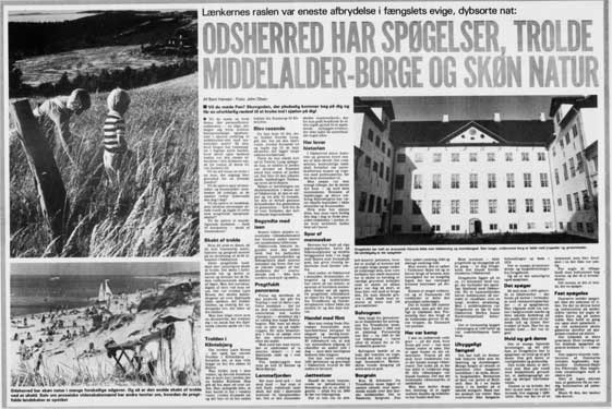 Artikel fra dagbladet Aktuel om Odsherred