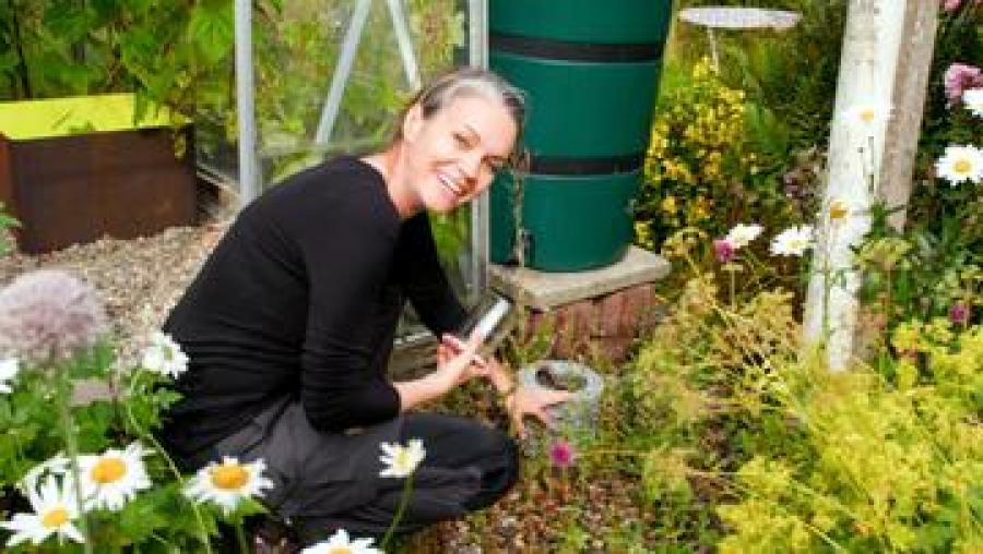 Havedesigner og biolog Katrine Turner